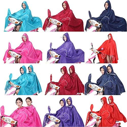 Imperméable Voiture Fashion Femmes Pluie Double Moto Targogo Adulte K Poncho Électrique qBRUEn1