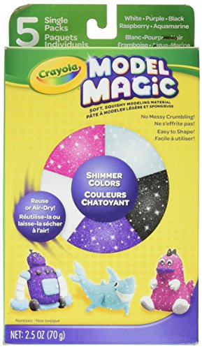 Model Magic Variety Pack 2.5oz-Shimmer -