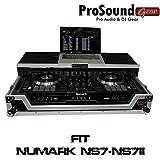 ProX Cases Numark NS7II Digital Controller Flight Case with Wheels & Laptop Shelf (ProSoundGear) Authorized Dealer