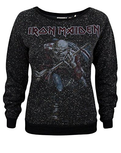 Amplified Iron Maiden Trooper 2 Women's Sweatshirt (Trooper Sweatshirt)