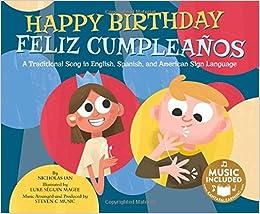Amazon.com: Happy Birthday / Feliz Cumpleaños: A Traditional ...
