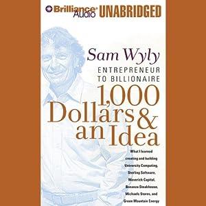 1,000 Dollars & an Idea Audiobook