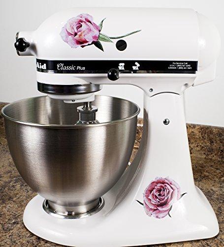 Victorian Roses Floral Bakery Kitchenaid Mixer Mixing Mac...
