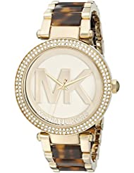 Michael Kors Womens Parker Brown Watch MK6109