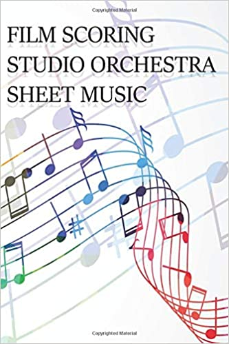 Film Scoring Studio Orchestra Sheet Music Sheet Music Book