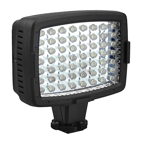 CN-LUX560 on Camera LED Video Light Camcorder Light for Nikon Canon - 2