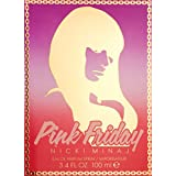 Nicki Minaj Pink Friday Eau de Parfum Spray for Women, 3.4 Ounce