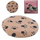 Microwave Pet Heating Pad - Bed Warmer Last 10 Hours of Safe Warmth - 1 Replace Cover Included