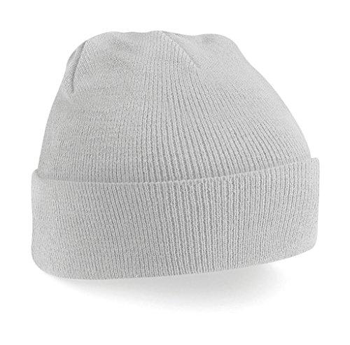 Gorro de invierno de moda Unisex B45 Gris Claro