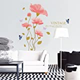 Wall Décor Stickers Fashion Removeable Decor Lotus Wall Sticker Decal Decoration Art Home Wall Stickers Christmas/ Wall Decals Bathroom