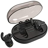 True Wireless Earbuds, Parihy Revolutionary Bluetooth4.2 Sports Earpieces,24Hrs,Anti-Dropout Earphones with 900mAh Charging Box,3D Sound Mini Twins Stereo Headphones for Iphone and Android Phones