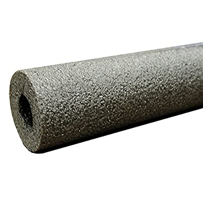 "Jones Stephens, JS 2-5/8"" ID (2-1/2"" CTS) Semi-Slit Pipe Insulation, 3/4"" Wall Thickness, 4.053 R Values - I54258"