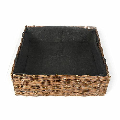 Deep Woven Willow Raised Bed, 48''W x 144''L x 12''H by Master Garden Products