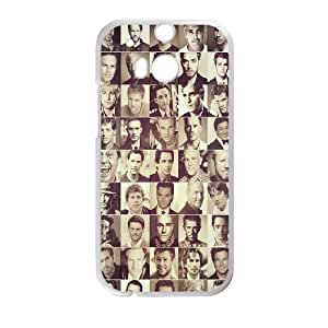 Hollywood Actors HTC One M8 Cell Phone Case White Delicate gift JIS_292498