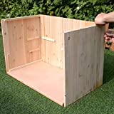 Indoor Small Animal Cage Wooden - Gerbil Beared