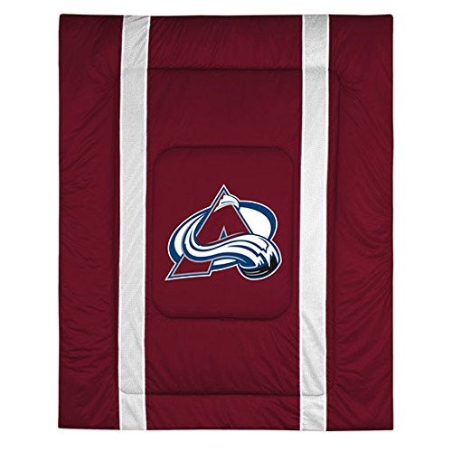 NHL Colorado Avalanche Sideline Comforter Queen Avalanche Comforter