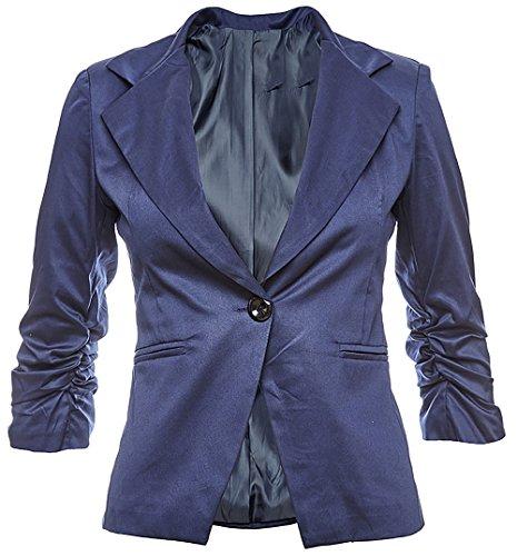 Blazer Giacca Cotone Business Colori 40 In 38 Festa Look Elegante 36 26 Disponibile Alla Donna 42 Moda Dunkelblau 34 EdRwntqxq1