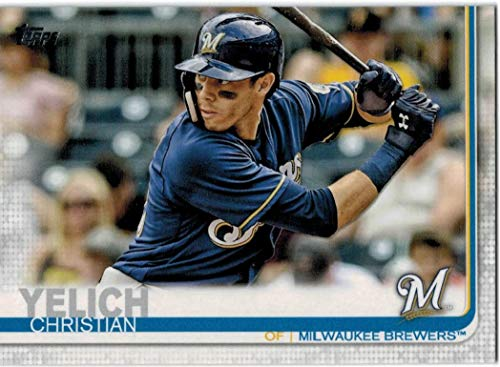 (2019 Topps Series 1 & 2 Milwaukee Brewers Team Set with Ryan Braun & 2 Christian Yelich - 22 MLB Cards)