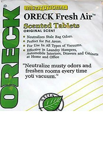 Household Supplies & Cleaning 12 Oreck Fresh Air Tab Vacuum Cleaner Scent Tablets Deodorizing