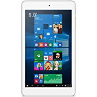 ALLDOCUBE iwork8 Air Tablet, Cube 8 inch 1920 x1200 IPS Screen (Win10 + Android 5.1, Intel Atom X5 Z8350, 2GB RAM, 32GB ROM), White(No Wall Charger)