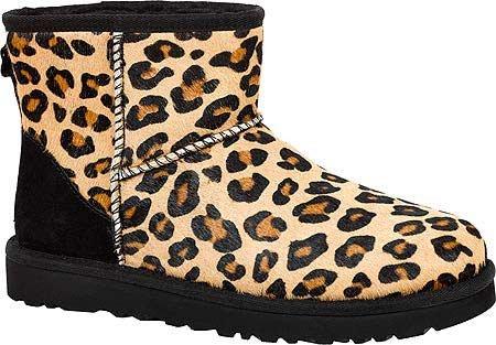 UGG Australia Mini Classic Calf, Botines para Mujer Leopardo