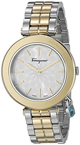 Salvatore-Ferragamo-Womens-FIC040015-Intreccio-Analog-Display-Quartz-Two-Tone-Watch