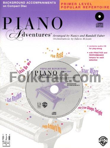 - Piano Adventures - Primer Level Popular Repertoire CD