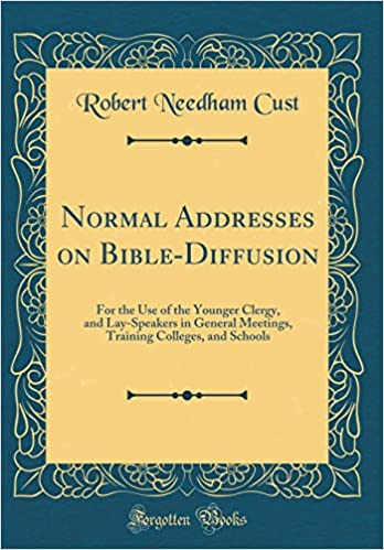 Buy Normal Addresses on Bible-Diffusion: For the Use of the