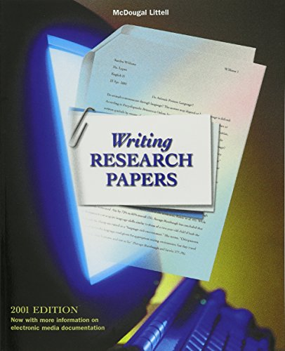 Language Network: Writing Research Papers Grades 9-12