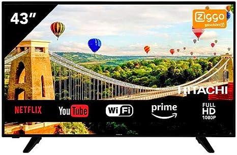 TV hitachi 43pulgadas Full HD 43he4005: Amazon.es: Electrónica