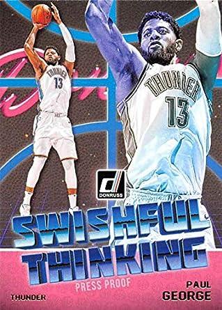 484ad68531d14 Amazon.com: 2018-19 Donruss Swishful Thinking Press Proof Basketball ...