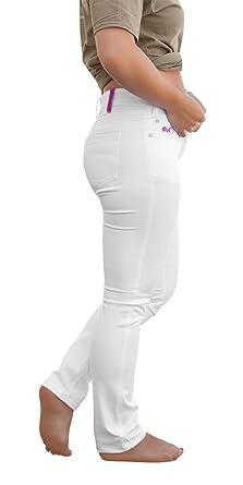 Strongant Zahnarzt 5 Pocket Damen 260gm Style ArzthoseLaborhoseÄrztinSchwesterhosePflegedienst Bundhose Venezia Jeans Ykk Hose Stretch SVqMUzp