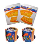 Hot Wheels PlayTape 2 Pack 30''x1.75'' Orange - Road Car Tape Great for Kids, Sticker Roll for Cars and Train Sets, Stick to Floors and Walls, Quick Cleanup, Children Toys Birthday Gift
