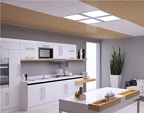 Rekabel 18W LED Square Panel Nature White Bright Light Nature White LED Recessed Ceiling Lights for Home Office Commercial Lighting(2 Pack) (3000) by Rekabel (Image #7)