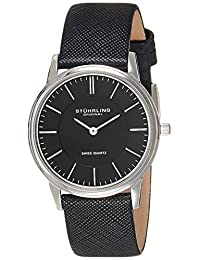 Stuhrling Original Men's Classic 'Newberry' Super Slim Quartz Watch 238.32151