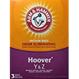 Arm & Hammer Odor Eliminating Vacuum Bags, Hoover Y & Z, 3-pack