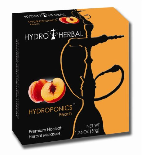 HYDRO NON-TOBACCO FLAVORED HERBAL MOLASSES - HYDROPONICS FLAVOR FOR HOOKAHS: 50g container is 2-5 bowls for your hookah pipe. They offer many nicotine-free flavors for your narguile pipes.