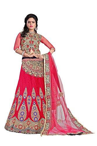 PCC Velvet Fabric Pink Pretty Lehenga Style 79527