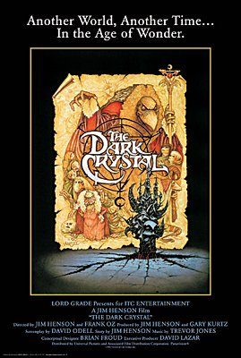 Image result for the dark crystal poster