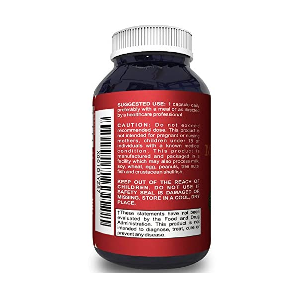 Pure Mucuna Pruriens Extract for Mood Enhancement L-Dopa Velvet Bean Libido Booster for Men & Women Natural Cognitive Memory Focus Supplement Increase Stamina Energy Sexual Health Pills by Biofusion