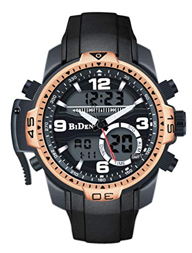 Men's Sport Digital Watches Big Face Military Outdoor Watch Waterproof Chronograph Alarm LED Backlight Fashion Leisure Watches for Men For Sale