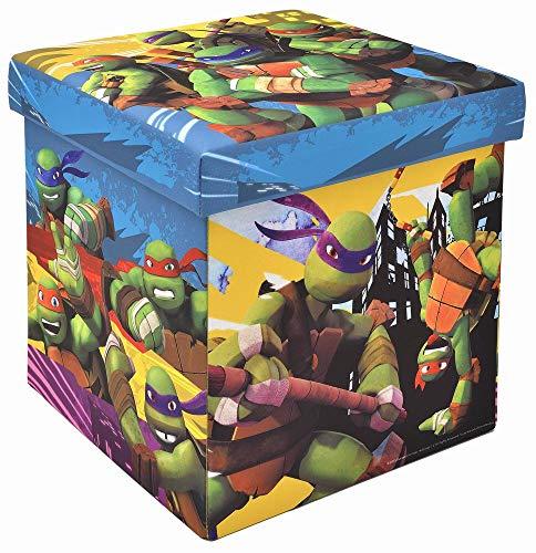 (Teenage Mutant Ninja Turtles Storage Ottoman, Officially Licensed, Sturdy 15
