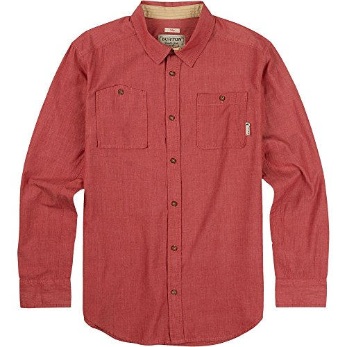 BURTON Men's Glade Long Sleeve Shirt, X-Large, Brick Red - Shopping Glades