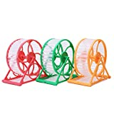 Ramdon Color New Hamster Mouse Mice Small Exercise Toy Running Spinner Sports Jogging Wheel 2 Pieces Of One Set