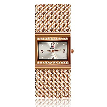 2688b88dd8b90 Buy SOXY Luxury Diamond Bracelet Ladies Watches Fashion Watches Ladies  Watches Online at Low Prices in India - Amazon.in