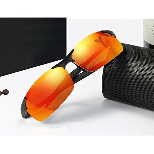 De De sol Color Gafas para 8 Gafas Deporte De YQQ Alta Sol Gafas de Gafas De UV Hombre Definición Anti Polarizadas Personalizadas Conducción Anti De Gafas Sol 8 Reflejante q8XEF