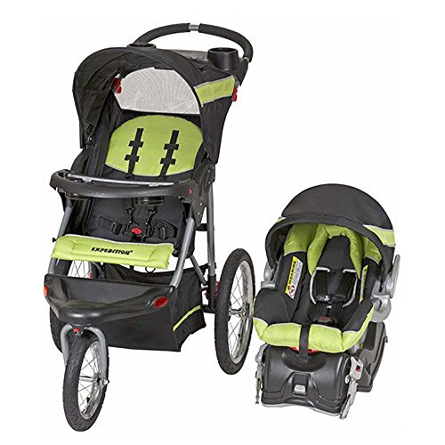 Baby Trend Expedition Travel System with Stroller and Car Seat, Lime