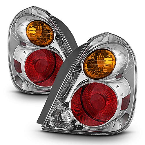 ACANII - For 2002 2003 2004 2005 2006 Altima Tail Lights Lamps Replacement Left+Right Set
