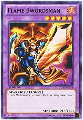 Flame Swordsman LCJW-EN053  X 1 Common 1st Ed Yugioh
