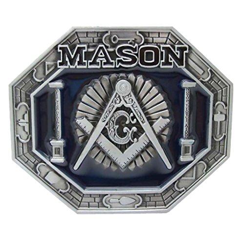 Homyl Vintage Freemasons Men Belt Buckle Women Cowboy Native American Belt Buckles